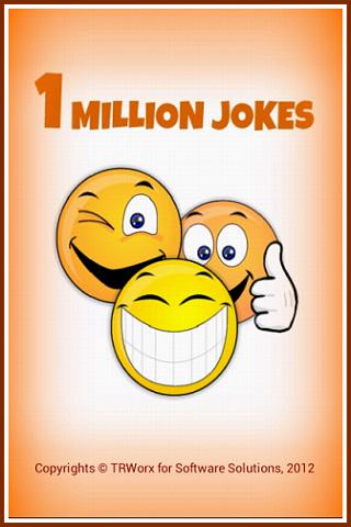 One Million Jokes- screenshot