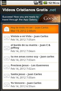 Videos Cristianos Gratis - screenshot thumbnail