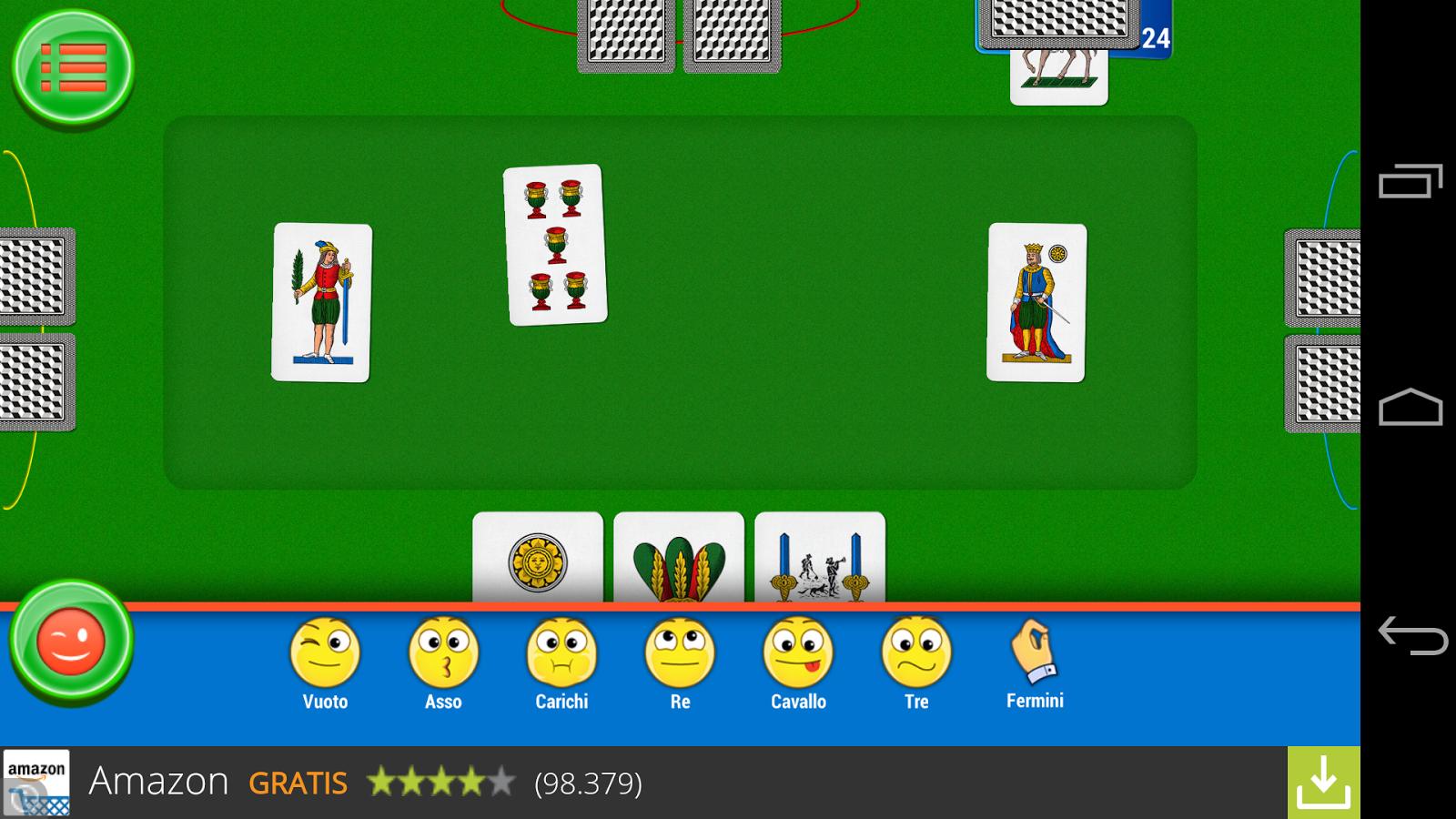 Briscola- screenshot