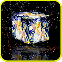 Magic Fairy 3D Cube HD Live WP icon