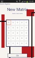 Screenshot of Quick Algebra