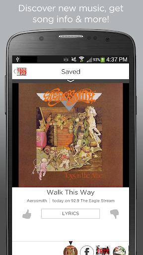 【免費音樂App】92.9 The Eagle-APP點子