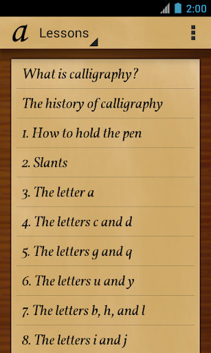 Calligraphy Teacher Pro