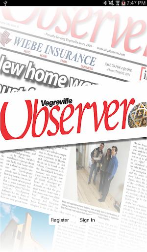 The Vegreville Observer
