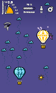 WCDMA+ Balloon Race - screenshot thumbnail