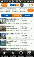 Screenshot of BookMe Hotels Search & Compare