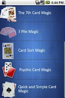 Screenshot of Card Magic Tricks