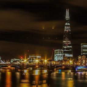 All In One City Icons by Nachau Kirwan - City,  Street & Park  Skylines ( london eye, london, tower bridge, bridge, light, city, nightscape, , Lighting, moods, mood lighting, Urban, City, Lifestyle )