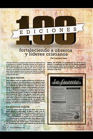 Revista La Fuente