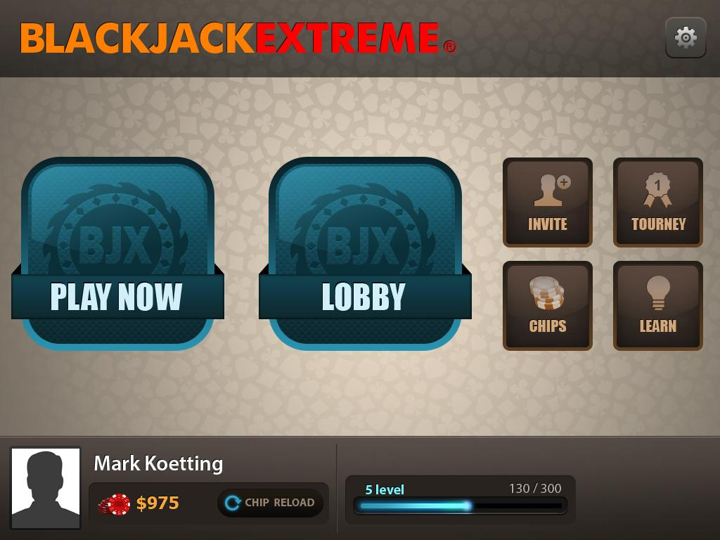 BlackJack eXtreme - screenshot