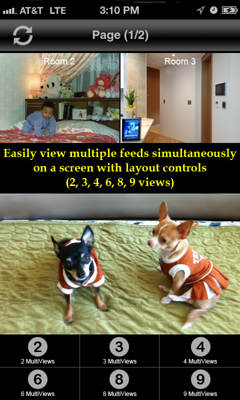 uLinksysCam: IP Camera Viewer- screenshot