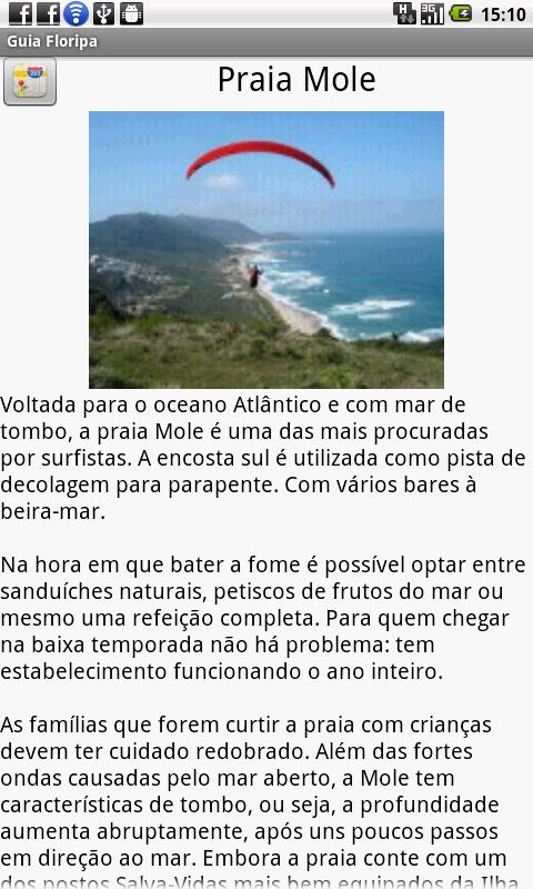 Guide florianopolis - screenshot