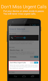 Silent Mode+ (do not disturb)- screenshot thumbnail