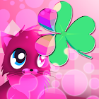 Gatos rosa theme 4 Go Launcher icon