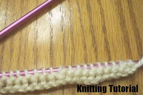 Knitting Tutorial App