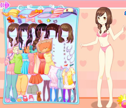Pure Girl Dress up
