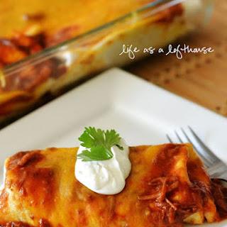 Chile Colorado Burritos