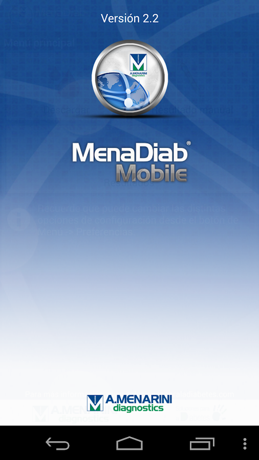 MenaDiab® Mobile - screenshot