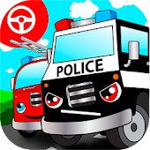 Police car games for kids free