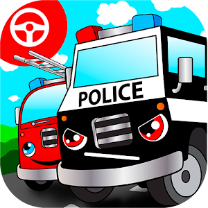 Police car games for kids free for PC and MAC