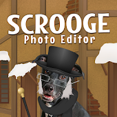 Scrooge Xmas Dress Up Photos