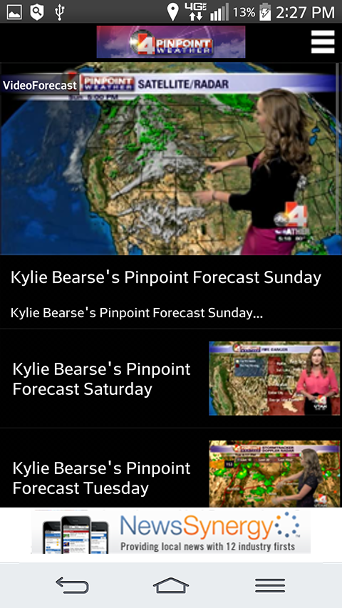 ABC4 - KTVX Pinpoint Weather- screenshot