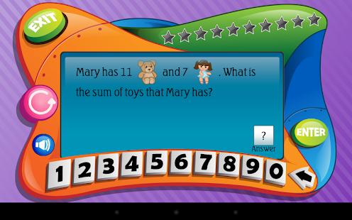 First Grade Math Lite