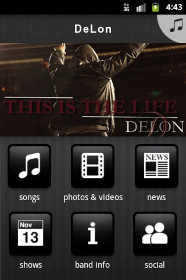 DeLon - screenshot