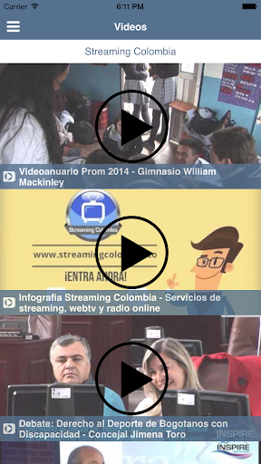 Streaming Colombia