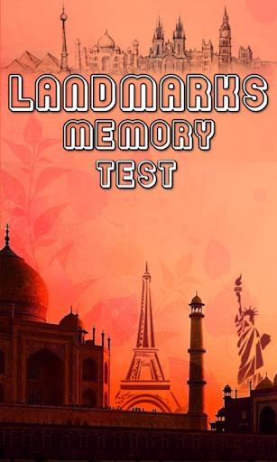 Landmarks Memory Test