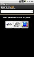 Screenshot of MTG Prices Checker