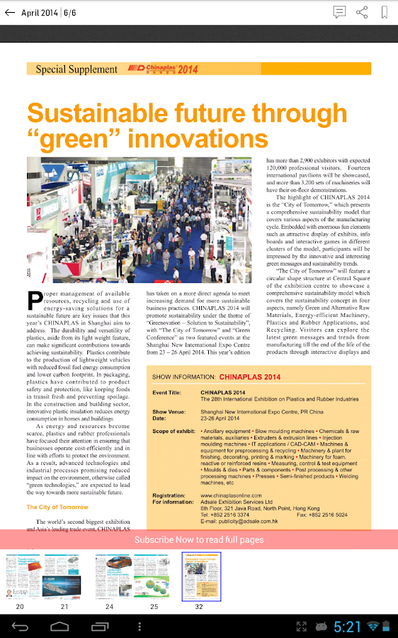Plastics News for Asia- screenshot