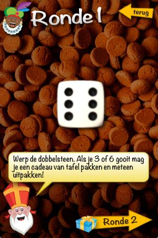 Sinterklaas Dobbelspel- screenshot