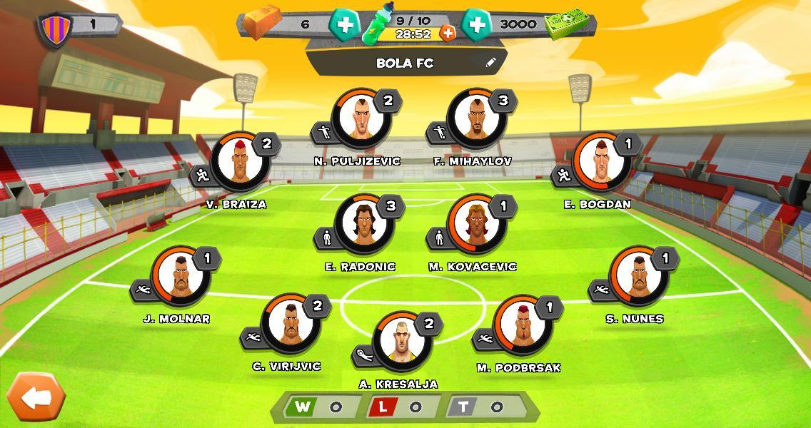 Disney Bola Soccer- screenshot