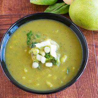 Detox Pear Bok Choy Soup.