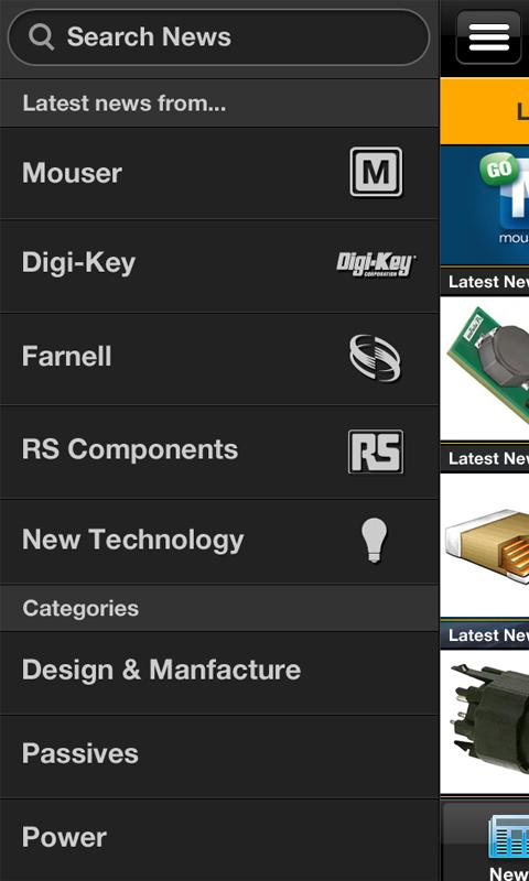 Electronics News - screenshot