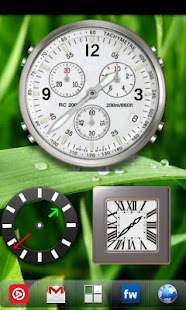 Analog Clock Widget Pack - screenshot thumbnail