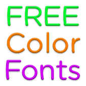 Color Fonts for FlipFont #7
