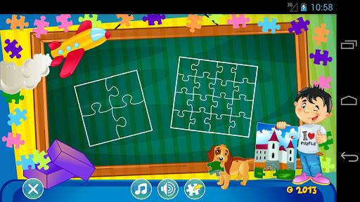 子ども向けジグソーパズル