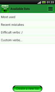 English Irregular Verbs- screenshot thumbnail