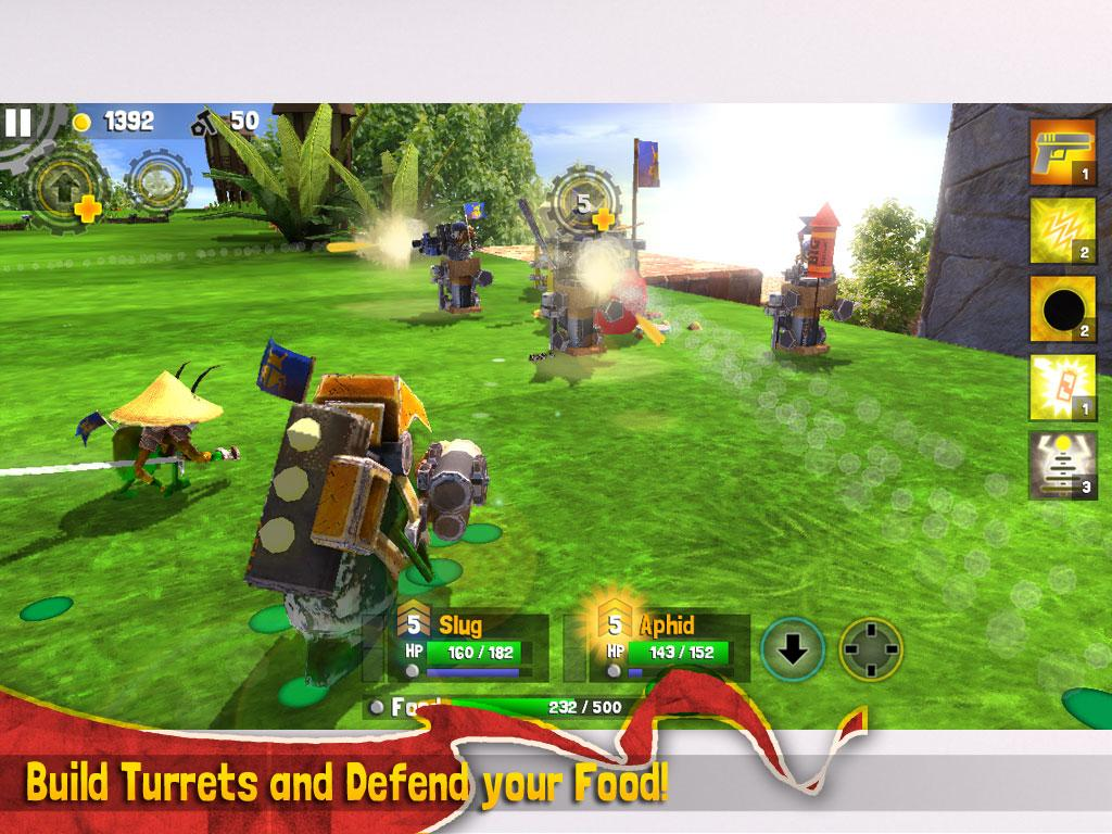 Bug Heroes 2- screenshot