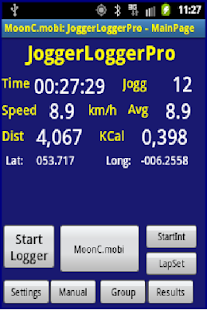 JoggerLoggerPro- screenshot thumbnail
