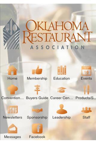 Oklahoma Restaurant Assn - screenshot