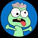 Whack-a-zombie icon