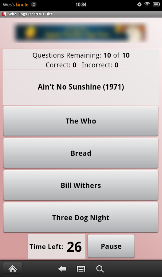 Who Sings It? 1970s Hits- screenshot