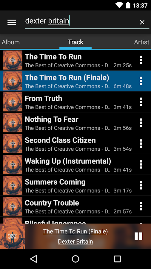 Timote - Remote for Spotify- screenshot