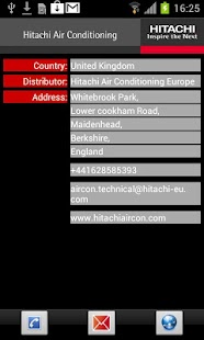 Hitachi Aircon Alarms- screenshot thumbnail