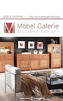 Screenshot of Möbel Galerie
