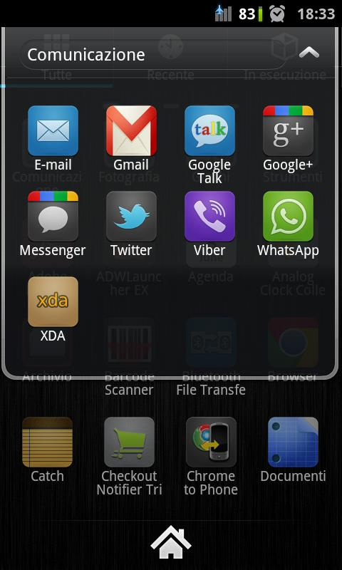 Talis Droid ADW/Go/Apex - screenshot
