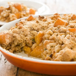 Butternut Squash and Macaroni Casserole.